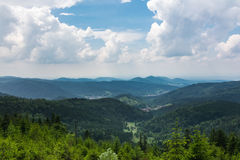 Schwarzwald Black Forest Landscape Wiesbach Rock Beautiful Overl Stock Photography