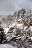 Schwarzwald Mountain Village stock photography