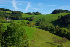 Schwarzwald Panorama View Road Royalty Free Stock Photo