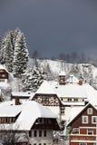 Schwarzwald traditionell arkitektur Arkivfoton