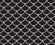 Schwarzweiss-Arthintergrund des traditionellen, japanischen Musters Stockfotografie