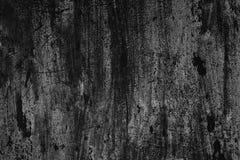 Schwarzweiss-Beschaffenheit der alten verkratzten gemalten Wand Lizenzfreie Stockfotos