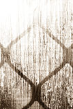 Schwarzweiss-Beschaffenheit mit Diamant-Muster Stockfotos