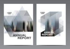 Schwarzweiss-Broschüren-Plandesignschablone Moderner Hintergrund Jahresbericht-Flieger-Broschürenabdeckung Darstellung vektor abbildung