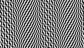 Schwarzweiss-Design Muster mit optischer Illusion Abstrakter geometrischer Hintergrund 3d Auch im corel abgehobenen Betrag lizenzfreie abbildung