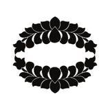 Schwarzweiss-Element lizenzfreie abbildung