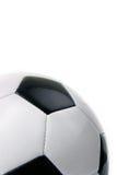 Schwarzweiss-Fußball Lizenzfreies Stockfoto