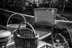 Schwarzweiss-Gegenstände lizenzfreies stockfoto