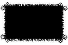 Schwarzweiss-grunge Hintergrund. stock abbildung