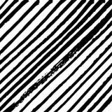 Schwarzweiss-Hintergrund der unbedeutenden Schrägstreifen Lizenzfreie Stockfotos