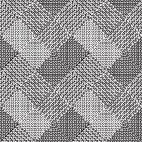 Schwarzweiss-Hintergrund, Stoffvektormuster Lizenzfreie Stockbilder