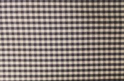 Schwarzweiss-Holzfäller Plaid Seamless Pattern Stockfotografie