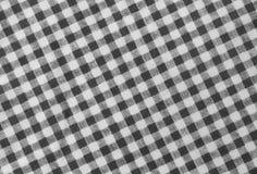 Schwarzweiss-Holzfäller Plaid Seamless Pattern Stockfotos