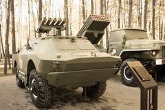 Schwarzweiss-Infanteriekampffahrzeug Lizenzfreie Stockbilder
