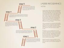 Schwarzweiss--infographics Lizenzfreie Stockfotos