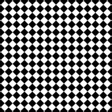 Schwarzweiss-Kontrollmuster Stockfoto