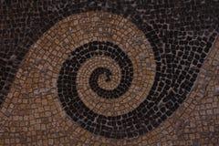 Schwarzweiss-Marmormosaik in einem symmetrischen Muster lizenzfreie stockfotografie