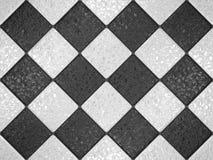 Schwarzweiss-Mosaik Lizenzfreie Stockfotografie
