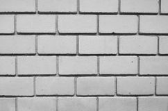 Schwarzweiss-Muster der Betonmauer Lizenzfreies Stockbild