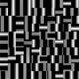 Schwarzweiss-Muster-Vektor Lizenzfreies Stockfoto