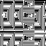 Schwarzweiss-Muster-Vektor Stockfotografie