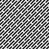 Schwarzweiss-Rasterfeld lizenzfreie abbildung