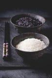 Schwarzweiss-Reis Stockbilder