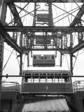 Schwarzweiss-Riesenrad Lizenzfreie Stockfotografie