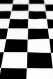Schwarzweiss-Schachbrett Stockbilder