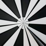 Schwarzweiss-Schlüsselhintergrundabstraktion Stockfotografie