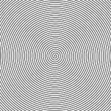 Schwarzweiss-Spirale Lizenzfreies Stockfoto