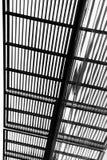 Schwarzweiss-Streifen in einer Struktur Stockbilder