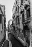 Schwarzweiss-Venedig Stockfotografie