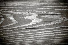 Schwarzweiss-Woodgrain-Beschaffenheit stockfotos