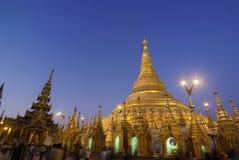 Schwedagon Pagoda Arkivfoton