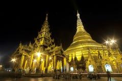 Schwedagon Pagoda Fotografering för Bildbyråer