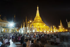 Schwedagon Pagoda Stock Photography