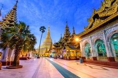 Schwedagon Pagoda of Myanmar Stock Image