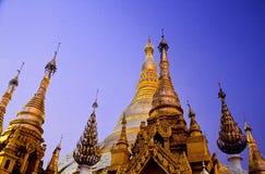 Schwedagon pagoda- Yangon, Burma (Myanmar) Royalty Free Stock Image
