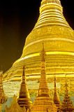 Schwedagon pagoda- Yangon, Burma (Myanmar) Royalty Free Stock Photos