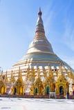Schwedagon Pagoda in Yangon Myanmar Royalty Free Stock Image