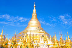 Schwedagon Pagoda in Yangon Myanmar Stock Images
