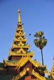 Schwedagon Paya,仰光,缅甸 免版税库存图片