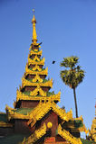Schwedagon Paya, Rangoon, Birmania Immagini Stock Libere da Diritti