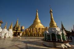Schwedagon Paya. In Yangon Myammar royalty free stock image