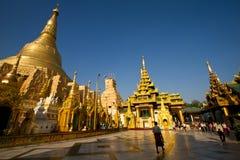 Schwedagon Paya. In Yangon Myammar stock images