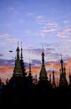 schwedagon yangon de pagoda de la Birmanie myanmar Photographie stock libre de droits