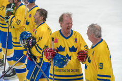 Schwede vorwärts von Jorgen Pettersson (29) Stockbild