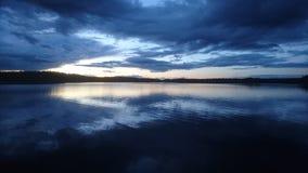 Schweden am Abend Stockfotos