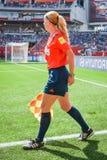 Schweden gegen Nigeria-Nationalmannschaften Weltcup FIFAS Women's stockbild